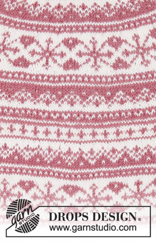 Selvik genser fra Drops 196-18