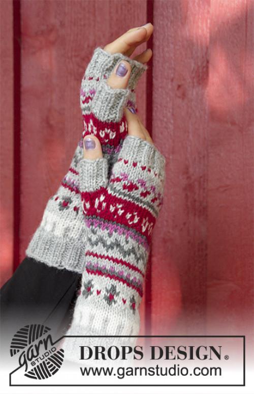 Winter Berries genser by Drops 181-15