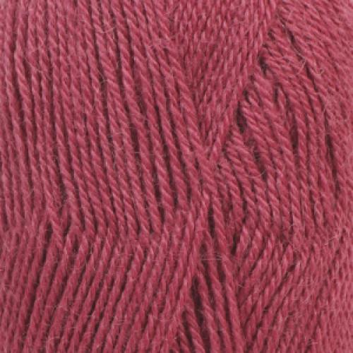 Drops Alpaca uni colour - 3770 Mørk rosa