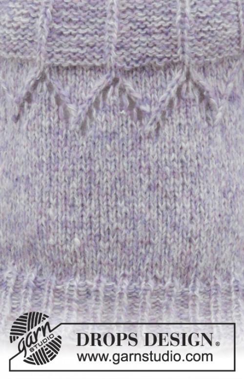 Fair Lily genser fra Drops 191-4