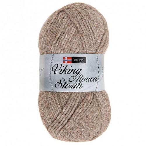 Viking garn - Alpaca Storm 507 - Beige