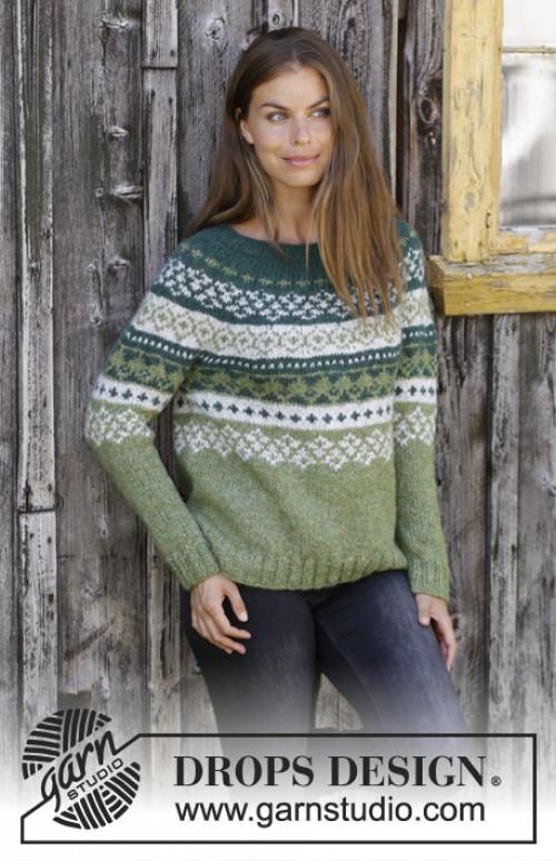 Bardu genser fra Drops 196-9