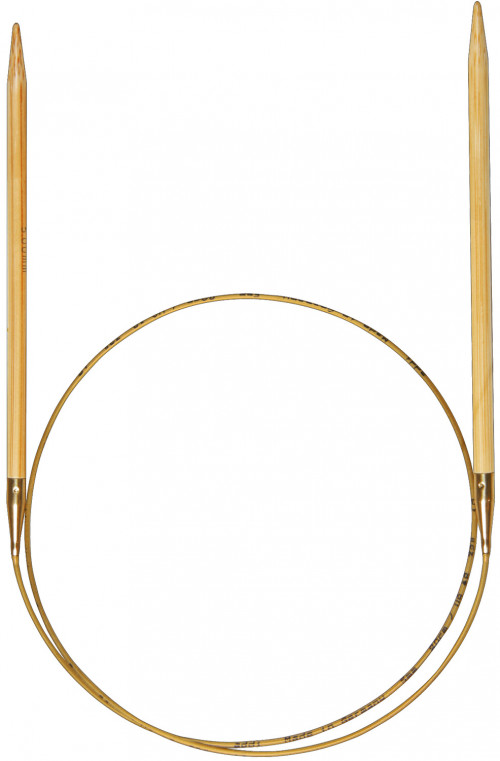 Addi rundpinne i bambus 60cm / 6.0mm