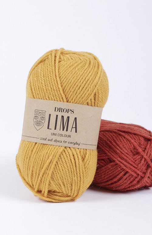 Drops Lima mix - 9015 Grå
