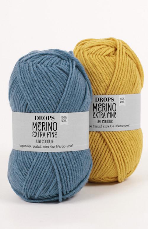 Drops Merino extra fine mix - 04 Mellomgrå