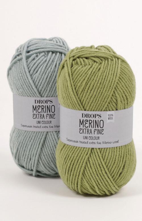 Drops Merino extra fine uni colour - 13 Jeansblå