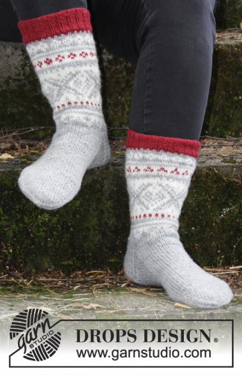Narvik setesdal sokker - Drops 185-8