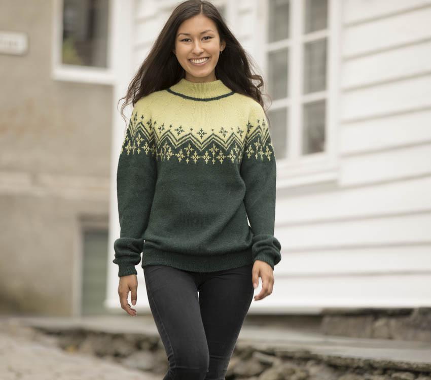 ef3a6823 Strand genser fra Viking 1816-5
