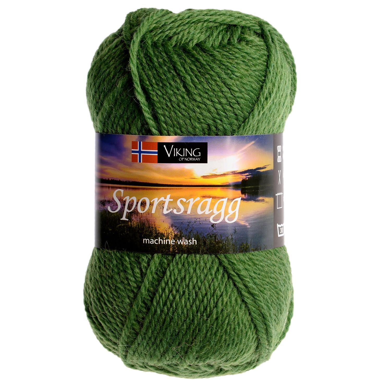 4d071c3b Viking garn - Sportsragg 533 - Grønn