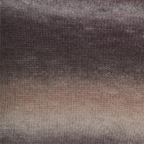Drops Delight Print - 02 Plomme / beige / lyng