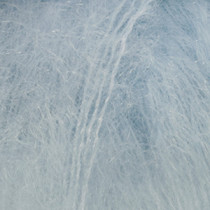 Drops Kid-silk uni colour - 07 Lys gråblå