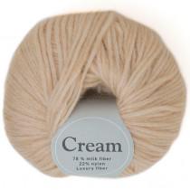 Viking garn - Cream 107 - Lys beige