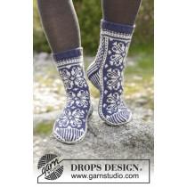 Lofoten sokker fra Drops 181-12