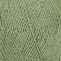 Drops Flora Uni Colour - 15 Grønn