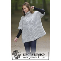 Winter Snuggle genser fra Drops 181-18