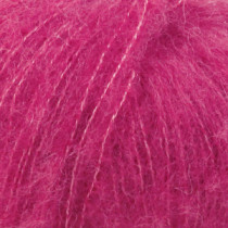 Drops Brushed alpaca silk uni colour - 18 Cerise