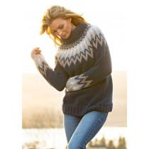 Kathrine genseren fra Farmen Viking 1806-1 Blå