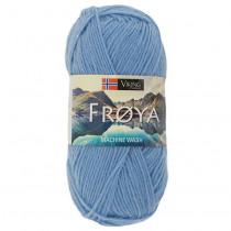 Viking garn - Frøya 207 - Lys blå