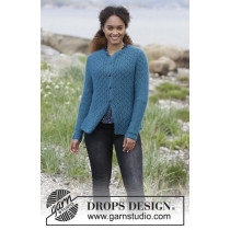Song of the Sea Cardigan fra Drops 181-21