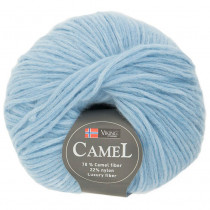 Viking garn - Camel 220 - Lys blå