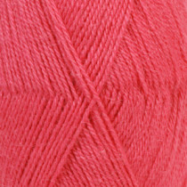 Drops Alpaca uni colour - 2922 Bringebær