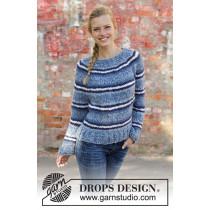 Denim Crush genser fra Drops 194-3