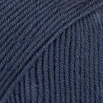 Drops Baby merino uni colour - 30 Blå