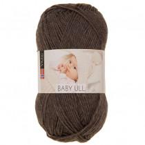 Viking garn - Baby Ull 308 - Mørk brun