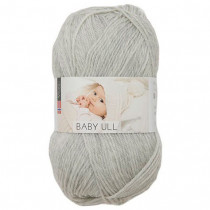 Viking garn - Baby Ull 312 - Perlegrå