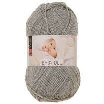 Viking garn - Baby Ull 313 - Lys grå