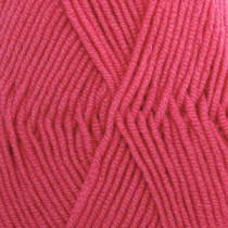 Drops Merino extra fine uni colour - 32 Mørk rose