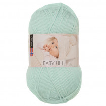 Viking garn - Baby Ull 327 - Lys mint
