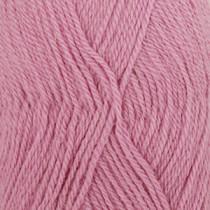 Drops Alpaca uni colour - 3720 Mellomrosa