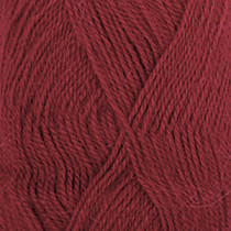 Drops Alpaca uni colour - 3900 Tomatrød