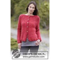 Warm Autumn jakke fra Drops 164-4