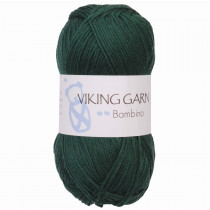 Viking garn - Bambino 433 - Skogsgrønn