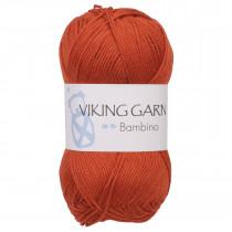 Viking garn - Bambino 452 Oransje