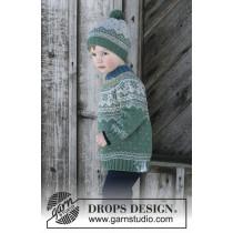 Seiland genser og lue fra Drops Barn 30-5