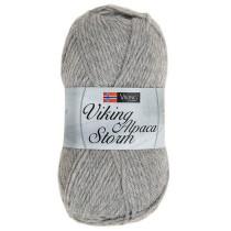Viking garn - Alpaca Storm 513 -Grå