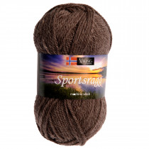 Viking garn - Sportsragg 519 - Mellombrun