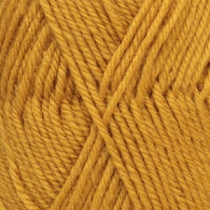 Drops Karisma uni colour - 52 Sennepsgul