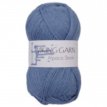 Viking garn - Alpaca Storm 523 - Petrol blå