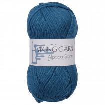 Viking garn - Alpaca Storm 525 - Mørk blå