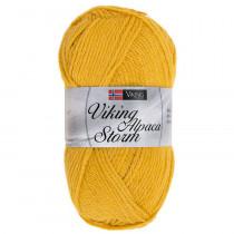 Viking garn - Alpaca Storm 545 - Gul
