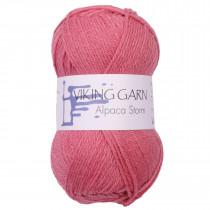 Viking garn - Alpaca Storm 563 - Rosa