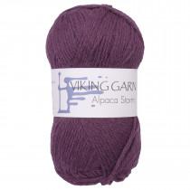Viking garn - Alpaca Storm 569 - Mørk lilla