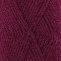 Drops Lima uni colour - 5820 Rubinrød