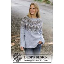 Winter Heart genser Drops Design 194-6