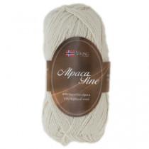 Viking garn - Alpaca Fine 602 - Natur