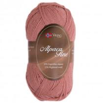 Viking garn - Alpaca Fine 609 - Lys gammelrosa